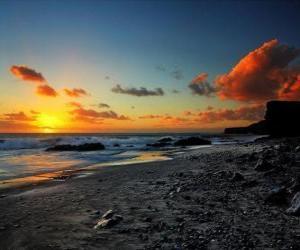 Puzzle ηλιοβασίλεμα